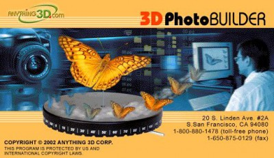 3D Photo Builder 2.0 screenshot