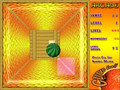 3D Pong CurveBall 1.0 screenshot