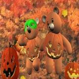3D Pumpkin Patch Teddy Bears 1.0 screenshot