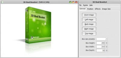 3D Real Boxshot 5.0 screenshot
