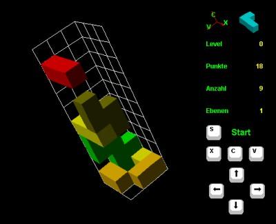 3D Tetris 4.1.0 screenshot