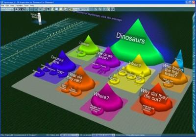3D Topicscape Student Edition 2.0 screenshot