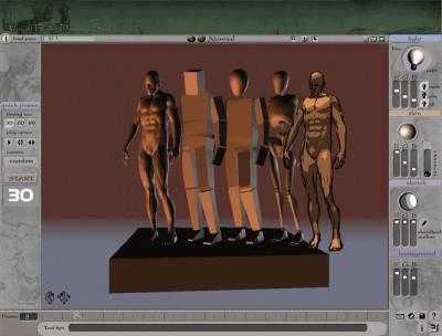 3D Virtual Figure Drawing Studio (Male) 1.07 screenshot