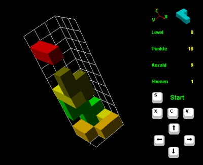 3DTetris 3.0.9 screenshot