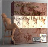 3DVirtual Figure Drawing Studio (Female) 1.011 screenshot