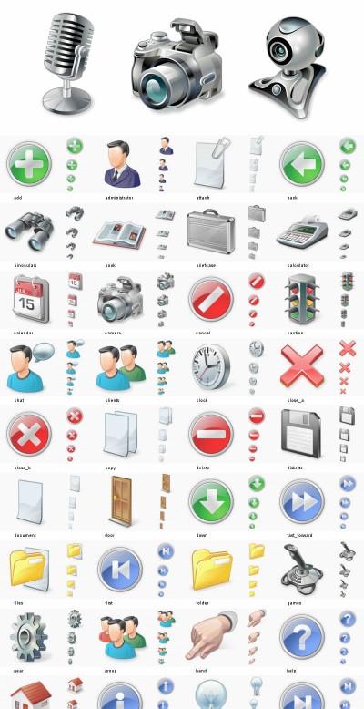 50.000 Vista Icons - Full Vista Bundle 1.0 screenshot