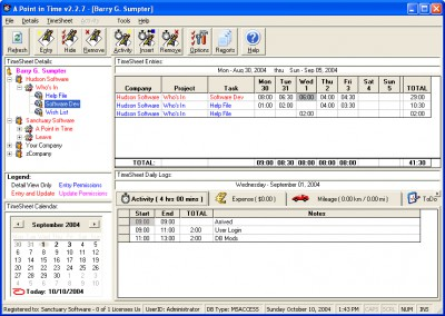 A Point in Time 2005 screenshot