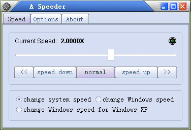 A Speeder 2009.3 screenshot