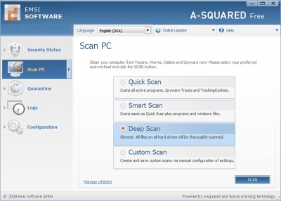 a-squared Free 4.5.0.27c screenshot