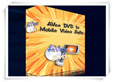 A V E X - DVD to Mobile Video Suite 2008.243 screenshot