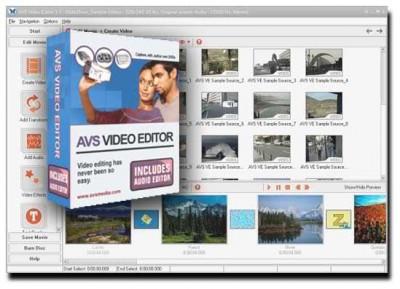 A V S - VIDEO Editor 3.4.13 screenshot