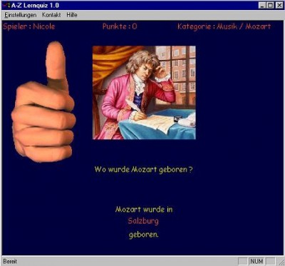 A-Z Lernquiz 1.1 screenshot