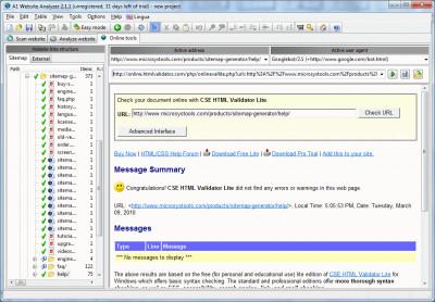 A1 Website Analyzer 10.1.4 screenshot