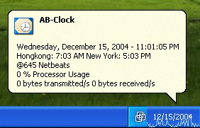 AB-Clock 2.0.0.20 screenshot