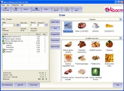Abacre Restaurant Point of Sale 11.2 screenshot