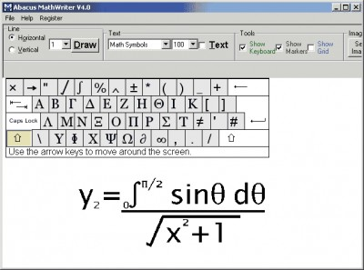Abacus Math Writer 4.0 screenshot