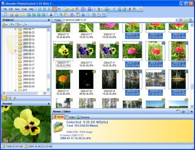Abander PhotosControl 1.01 B01 screenshot