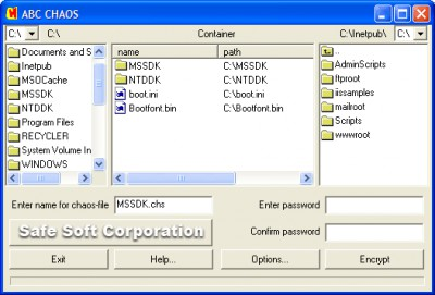 ABC CHAOS 2.75 screenshot