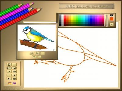 ABC Drawing School II - Birds 1.11.0424 screenshot