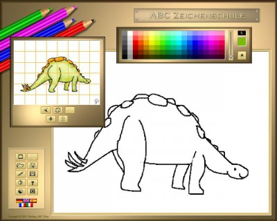 ABC Drawing School III - Dinosaurs 1.11.0424 screenshot