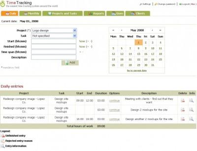 ABC Time Tracking 3 screenshot