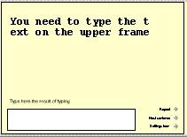 ABC typing game 2 screenshot