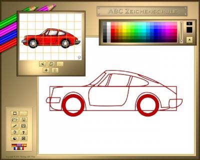 ABC Zeichenschule IV - Fahrzeuge 1.11.0424 screenshot