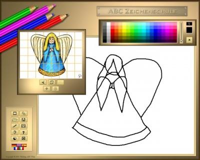 ABC Zeichenschule V - Weihnachten 1.11.0424 screenshot