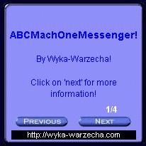 ABCMachOneMessenger News Ticker FX 583.3 screenshot
