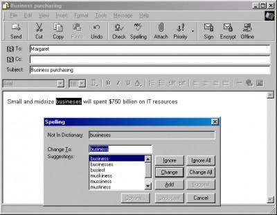 ABCSpell for Outlook Express 7.2.4.1 screenshot