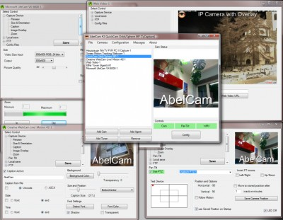 AbelCam 3.2.2 Get your webcam online in one minute