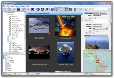 abeMeda 7.2 screenshot