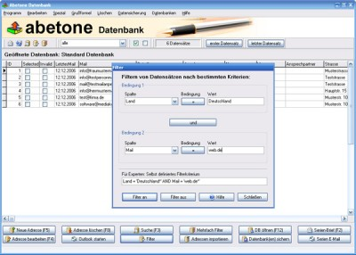 Abetone-Datenbank 9.1.4 screenshot