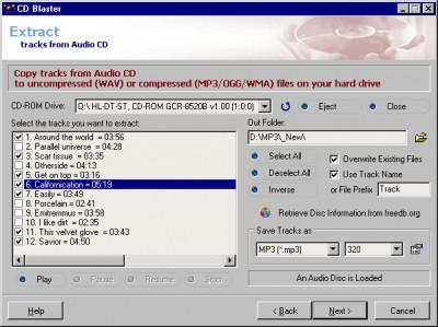 ABF CD Blaster 1.8 screenshot