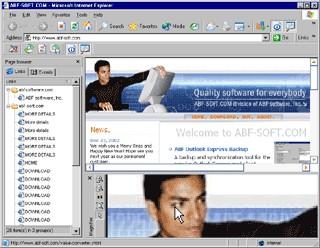 ABF Internet Explorer Tools 1.2 screenshot