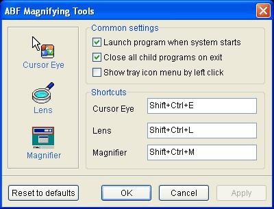 ABF Magnifying Tools 1.2 screenshot