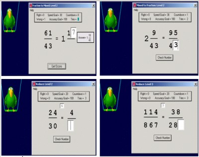 Abilities Builder Fraction Facts 3.5 screenshot