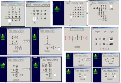 Abilities Builder Math Facts 6.5 screenshot