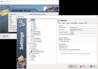 Ability Mail Server 4.3.0 screenshot