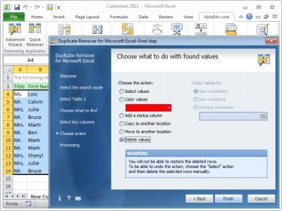 Ablebits.com Duplicate Remover for Excel 3.1.5 screenshot
