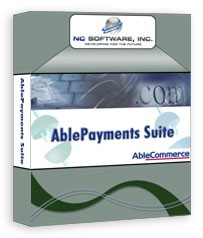 AblePayments Suite for AbleCommerce 1.5 screenshot