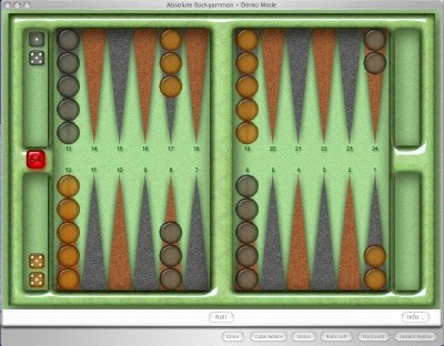 Absolute Backgammon 8.6.5 screenshot