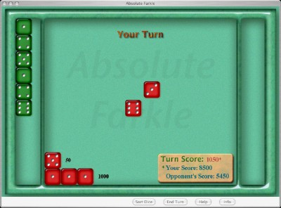 Absolute Farkle 4.3 screenshot