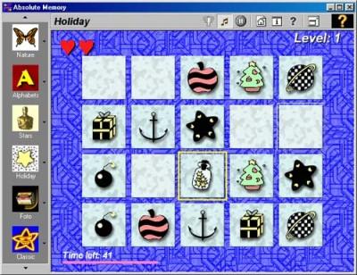 Absolute memory 1.4 screenshot