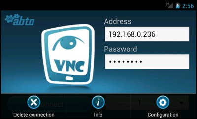 abtoVNC Android Viewer SDK 1.4.3 screenshot