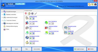abylon SHREDDER 15.90.1 screenshot
