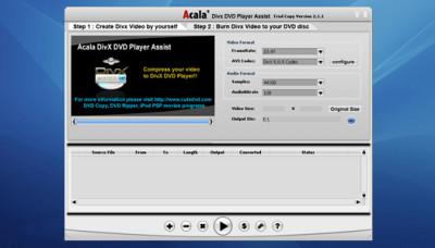 Acala DivX DVD Player Assist 6.0.2 screenshot