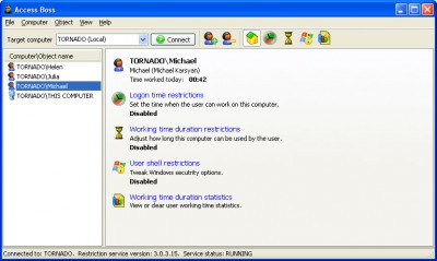 Access Boss 3.2 screenshot