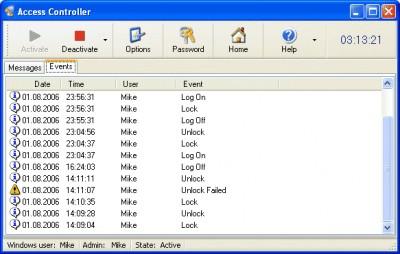 Access Controller 3.314 screenshot