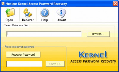 Access Password Recovery PROFESSIONAL 4.02 screenshot